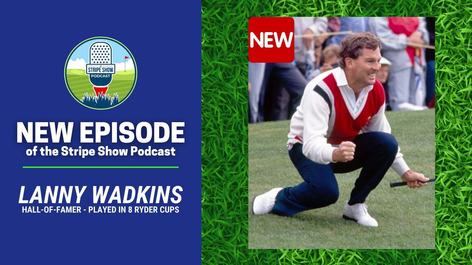 Hall-of-Famer and Former Ryder Cup Captain, Lanny Wadkins